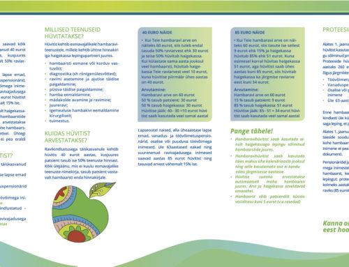 Maxilla Hambakliinik sõlmis Eesti Haigekassaga täiskasvanute hambaravihüvitise lepingu